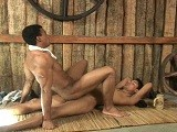 Poax Is Woken Up From His Afternoon Ciesta When Latino Muscle Stud Johnny Walks In. Poax Is Such a Sexy Latino Cutie, and Johnny Takes a Seat Next to Him as They Begin Kissing. the Clothes Get Stripped Away Piece by Piece as They Enjoy Sucking Each Other's Cocks. Poax Then Mounts His Muscular Buddy, Penetrating His Perfect Ass With His Bareback Man-prod. Johnny Moans With Pleasure the Whole Time as Poax Fucks Him In Multiple Positions, and the Two Latino Lovers Pull Out and Blow Massive Loads of Cum.<br />