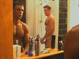 gay porn Seducing Dad || In the Shower Seducing Daddy Pietro