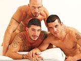 Butch Dixon is home to big guys with big cocks and big sexual appetites - and now and then, some big names. Getting all those in one scene is a special treat and here we have just that. There isn't a bottom guy quite like the legendary...