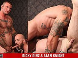 gay porn Ricky Sinz And Alan Kn || Big, Burly Tattooed Bruiser - Ricky Sinz, Tears Up Sexy Scottish Alan's Tight Fuck Hole.
