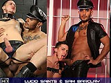 gay porn Lucio Saints And Sam Barclay || the Great Dark Man, Lucio Saints Is Complete With a Very Big, Dark, Uncut Dick, and Much as Sam Barclay Wants It He Can Barely Take It. Plucky Young Sam Takes a Ploughing and Much as He's Begging for It to Stop...he's Begging for More!