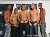 gay porn Lil Jersey Boi || We've Got an All New Combination of Horny Thugs for You to Gawk At In This Gangbang. Thug Orgy Favorite Intigue Joins His Brothers for a Conga Line of Cock Sucking to Start Off This Latest Black Cock Adventure.