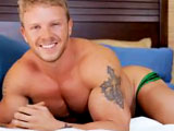 gay porn Toby Tucker || Toby Tucker is a hot, horny and hung bodybuilder and is jerking his cock just for you.