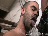 Damian Rios and Manuel Are Joined by Damien Crosse for a Round of Piss Play and Fucking. as Damien Crosse Pisses, Manuel Goes In for a Drink; Swallowing the Golden Liquid and Spitting It Back Out Before Kissing Damian Rios. the Piss Action Is Mixed In With Some Hardcore Cocksucking. Damien Rios Goes Down and Services the Other Two While Damien Crosse and Manuel Suck Face. Damian Rios Bends Over and Allows Damien Crosse to Fuck Him Before Manuel, Who Has Built Up a Lot of Piss, Soaks Both of His Friends. Manuel Is Next to Take It Up the Ass. He Bends Over and Damian Rios Takes the Opportunity to Piss All Over His Used Hole. Damien Crosse Shoves His Dick Into Manuel for a Nice Round of Dicking Before Damian Rios Takes a Turn.