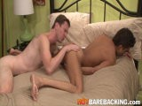 gay porn Dillon And Luke || Luke Cross Shows Dillon Dane Just How Good Bareback-fucking Can Be In This Video. They Waste No Time In Ripping Off Each Other's Clothes With Dillon Going Down on Luke's Perfect Cock While He Fingers His Antsy Hole. Luke Then Drags Dillon to the Edge of the Bed for Optimal Penetration and Uses His Legs as Handles as He Delivers Blow After Blow to Dillon's Tight Asshole. In a Big Finish, Luke Drenches His Filthy Bottom-boy's Ass With His Man-juice Before Fucking It Into His Asshole.<br />