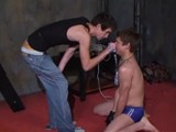 Puppy Slave Skyler Bleu Submits to His Master and Gets Tied Up and Whipped.