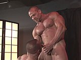 Muscle Men Marco Cruise and Jim Ferro Fuck Bareback.