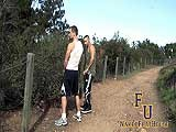 gay porn Jocks Pissing Exercise || Eryk Eastman and Aleco Sahara Are Out At Their Local Park to Workout and Get In a Nice Long Run. Throughout Their Running Path They Stop to Perform Various Workouts, Focusing on Their Upper Body, Legs, and Even Their Already Half Hard Cocks. They Start With Some Hop Kicks and Eryk Gives Instructions to Aleco.