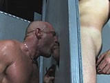 gay porn Raw Glory Hole Action || Chad and Hank Meet At a Glory Hole In Palm Springs.<br />