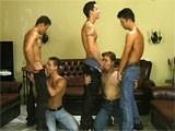 Gay Porn from StrongMen - Orgy-Boys