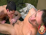 gay porn Army Stud Trains Marine || Bi-sexual Ryan Is Here Today to Pick (some-what Straight) Private Eryk's Brain About What He Should Expect In the Military. Ryan Just Enlisted In the Army and Is Very Interested In What the Service Has In Store for Him. Marine Eryk Tells His Tales of Boot Camp, Screaming Sergeants, Endless Drills and Extreme Daily Workout Regimens.