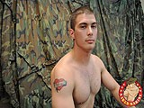 Marine Shows His Meat Riffle