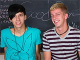 gay porn Horny Twinks || Kayden Daniels and Jae Landen Have a Big Problem, They Show Up Late to Class and No One Is There! What Can They Possibly Do to Pass the Time? Jae Has an Idea; He Wants His Throbbing Cock Sucked by Kayden's Skilled Mouth. as a Thank You Jae Sits Down on Kayden's Big Cock and Rocks Them Both to Orgasm.<br />