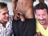 'What's better then an ambitious horny newbie taking a huge black cock in his tight holes? Two horny newbies taking massive cock. And that's exactly what this update delivers two cute guys not all to familiar with BBC, get on their knees and choke on a fat cock then get their assholes stretched out.