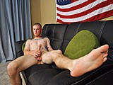 gay porn Corporal Mack Shoots || Corporal Mack Is a Fair-haired and Tattooed Military Man, Who Isn't Too Shy About His Body. He Is a Little Quite At Times, but He Wants Strip Down and Bare It All. as He Works on His Dick Through His Cargo Pants, His Arms Flex With Each Motion of His Hands. When His Bulge Grows Too Much, He Releases His Friend From His Pants.