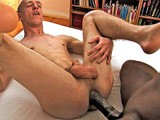 gay porn Monstercock 3way || Cutlerx and Tim Kruger Fucking a Slutty Bottom