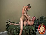 gay porn Army Guy Gets Nailed || Private Christian, a Tall, Tattooed Drink of Water, Listens Intently as Private Roman, a Darkly Intense-looking Soldier, Talks Shop.