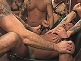 gay porn Gang Banged || Marco Is Beggin' for Some Cock, and His Prayers Are Answered by a Group of Horny Men.<br />