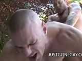 gay porn Pool Guy Fucks By Bear || Park Wiley Was Just Grabbing Some Sun In His Backyard When the Pool Guy Started Hitting on Him. He Was Horny so He Decided to Go With It!