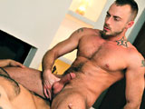 gay porn Jessie Colter Fucks Je || Young, muscled power bottom Jessie Colter isnt just about fucking -- he enjoys when a strong man takes him in his arms and makes deep and passionate love to him. Meeting his needs is Jean Franko, a powerful man who uses his thick uncut cock for both sexual gratification as well as treating the men who submit to him with tender care. Jessie wastes no time showing Franko the attention he deserves: he worships his hard uncut cock with his lips and tongue, keeping the top hard and ready for whats to come. When Jessies ass is prepared, Franko enters him with deep, penetrating ferocity, testing the limits of what Jessie can handle in his ass. But for his love, Jean, the intensity is all pleasure as they reach orgasm.