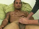 gay porn Rafael - Part 1 || Welcome back to BoyGusher! In this update we have with us Rafael. Rafael was heading through town and dropped in to hang out with us awhile. We talked him into staying overnight. Then we talked him into letting us jerk him off for the cameras. We got a two for one deal there!