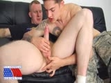gay porn Two Privates Training To Fuck || Timo and Scott Start Off Their Day by Getting Pumped Up. They Do Sets Together Military Style and Support Each Other. First Timo Suggests They Do Some Push Ups, Stopping In Between to Slap the Hand of Their Partner. Next They Do Some Sit Ups, Leg Crunches, and Leg Throws.