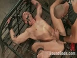 gay porn Leo Forte And Jessie Colter || 'Jessie Colter endure the fucksall and Leo Forte's cock while in bondage.