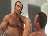 gay porn Head Trip: Scene 2 || on Location, Businessman Brad Kalvo Surveys His Empty Room While on the Phone With a Colleague. In the Background, a Buff Vision Appears -- the Huge Smooth Chest of Bearded Will Swagger, Who Moves Mysteriously Closer In an Instant as If by Magic. Will Moves In for a Kiss, Rubbing Brad's Bulge as He Presses Him Against a Post. Will Undresses the Hairy Stack of Beef, Burying His Lips to the Base of Brad's Bushy Groin, the Two Squeezing Brad's Nips Along the Way. Brad Returns the Favor, Dropping Down and Opening Wide for Will's Big and Thick Beauty. Will Bends Over, His Ass Getting Munched as Brad Strokes the Stud's Boner Underneath. the Pleasure Oozes Off Will's Face, His Eyes and Forehead Frozen In Ecstasy. Brad Slides Inside, Fucking the Breathless Bottom -- Who Continuously Shows Off His Hot Boner. on His Back, Will's Gorgeous Bod Is Captured In a Memorable Aerial, Brad Smiling At Him Before the Two Release.