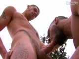 "gay porn Powerstroke: Scene 3 || Getting Ready for a Party on Their Outdoor Patio, Trim and Tattooed Ty Roderick and Bearded Jock Jecht Parker Soon Have Time to Kill. Tall Ty Moves Closer to His Bud, Their Scruffy Chins Meeting as They Kiss. Smooth Jecht Falls to His Knees and Takes Out Ty's Throbber""a Big and Thick Slab With a Beautiful Upward Arch. He Wraps His Lips Around It and Gets to Work, Sucking Deep and Teasing Ty's Shaft and Balls. Ty Returns the Favor, His Own Boner Bobbing Below as He Works Up the Bulge In Jecht's Briefs""then Engulfing His Straight-as-an-arrow Cock, Spit Wads Forming on the Shiny Shaft. the Two Kiss, Their Dick Heads Grazing In a Memorable Shot Before Ty Bends Jecht Over and Plows the Moaning Bottom. Jecht Sits on the Top, Jacking His Boner as He Gets Fucked""their Sacs Repeatedly Sliding Against Each Other as He Rides. Jecht Gets on His Back, Jacking His Rod Again Before His Thigh, Stomach and Pec Are Co"