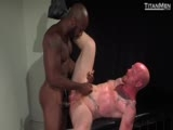 "gay porn Shove It: Scene 2 || Leading His Caged Dog Into the Room, Master Race Cooper Teases Hungry Brock Rustin With His Big Bone. ""want That?"" He Asks the Tattooed Stud, Who Gets a Brief Taste Through the Bars. ""tell Me You Fuckin' Want More!"" Shouts Race, Who Lets Brock Out of the Cage and Rams His Face. Spit Gobs Cling to Brock's Red Goatee, Race Holding the Sucker's Head Down as He Deep Throats. With Both Breathing Heavy, Brock Licks Race's Pit Before Mounting the Cage, Offering His Ass on All Fours. Race Eats and Slaps Brock's Ass Before Shoving His Dick Inside, the Bottom Yelling ""fuckin' Give It to Me!"" Race Feeds His Fingers to Brock as He Rams Him Doggie Style, Then Slides a Dildo Inside Brock. the Two Are Soon on the Floor Ass to Ass, One Leg Overlapped as They Dildo Fuck Each Other, a Memorable Aerial Shot Capturing the Unforgettable Image. Race Then Opens Up Wider as Brock Warms Up His Hole With Five Fingers Before Finally Twisting His Full Fist Inside, Keeping It There as Race's Body Quivers. the Two Shoot Their Wads, Race's Thigh Dripping With Cum."