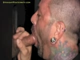 gay porn Trey At The Hole || Trey Says He's Still Not Ready to Try Something With Another Guy, so the Pledgemaster Tells Him to Come Over and Get Sucked Off At the Gloryhole Instead. Trey Stops by After Practice and Comes In the Back Door. He Drops His Sweatpants and Sticks His Pole Through the Hole. the Pledgemaster Can Tell Trey Likes It Hard and Fast, and That's How He Blows Him. Trey Begs for It Not to Stop, Cums on the Pledgemaster's Face and He Sucks Him Clean. After Trey Shoots His Wad, He Tries to Look Through the Hole, but Can't Tell Who's on the Other Side. Trick or Treat!