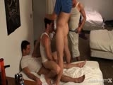 gay porn Ride That Cock || Everyone in the house fucks Jake. His ass is a free for all. Last week Cody ended up tag teaming him in the downstairs bedroom. We had a lot of fun face fucking him and even more fun letting him ride our cocks. It doesn't matter how much cock Jake gets. It's never enough.