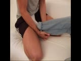 How to Do a Good Footjob Kickjob - Feet Kicks Socks Sox Foot Gay Cock Wood Fetish Berlin