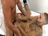gay porn Paddy O'brian - Will Helm || Straight Boy, Paddy O'brian Is Banged Up, but When He Shares a Cigarette With the Warden - Will Helm, Horny Will Can't Resist Getting on His Knees to Suck Paddy's Thick, Tool