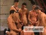 gay porn Pack Attack 2: Marco P || The gangbang charges forward as each power-top does their best to wear out cock-hungry Paris. Paris pulls his hole open, demanding to be fucked harder and harder. Paris takes charge and jumps on top of Petrov bouncing on his cock. Finally Paris gets on his knees to receive hot loads from his group of gangbangers. They all shoot their loads on Paris who appears to at least temporarily gotten his fill.