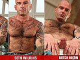 gay porn Seth Wilkins || a Mean Fucker - Seth Wilkins Takes No Prisoners.