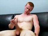 gay porn Spencer Todd Dildo || Spencer Todd's ass gets much need attention today. The red rocket tells the cameraman nothing has been in that ginger hole. Not even a finger. Apparently his girlfriend tried once, but wasn't successful. Wonder why?