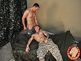 Studly and Straight Lieutenant Giovanni Has Returned to the Military Cot to Finally Take the Plunge and Dip His Rock Hard Cock In Another Mans Super Tight Rectum. and Who Better to Provide That Tight Anal Grasp Than Straight Muscular Marine, Roman Rivers? They Both Begin by Swapping Stories About Being In Different Branches of the Armed Forces Before Roman Gets Excited and Pulls a Branch of His Own Out of His Sexy Cammo-pants.