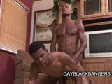 Ebony Boys Share Some Gay Love || 