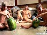 Gay Porn from StraightNakedThugs - Watermelon-Gangbang