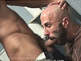 Antonio Biaggi Shoves His Monster Cock Deep Down Boyhous' Throat.