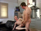 gay porn Hot 69 Sucking || Brian Is Just Out of the Shower When His Hot Date Lex Shows Up At the Door. Brian Gets on His Knees and Starts Undoing Lex's Belt and Drops Lex's Trousers and Before Long Brian Has Lex's Big Cock Fully Hard. Gay Sex Gets Really Hot With Some 69 Sucking and Ass Eating and Concludes With Lex Bareback Fucking Brian on the Black Leather Sofa In Multiple Positions Before Releasing His Cum.<br />
