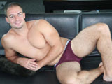 gay porn Trevor Gambino The Beg || This hot update is our first meeting with Trevor Gambino - hairy legs, dirty talk, big hard dick and walking around the set with a boner - all combine to give this straight guy a huge following from his previous episodes with us. We weren't really ready to shoot the photos with his dick hard, but he just dropped his underwear and was rock hard in an instant. Watch him lube up his boner and show off by doing some flexing and walking around with his dick fully erect. Sit back, grab a beer and lube and blow your load with Trevor Gambino this weekend.