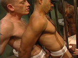 Gay Porn from LucasEntertainment - Titan-Ben-Fucks-And-Abuses-The-Inmates