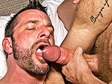 gay porn Cumeating Hunk || Tim Kruger Fucks Pornstar Morgan Black