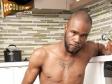 "Alonzoe Avery Jerks Off His 10"" Black Dick In This Solo Video"
