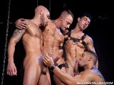 <br />buffed and Tattooed Jessie Colter Attracts a Group of Hot Studs Who Are All Keen to Play. They Huddle Around In a Cock Worshipping Circle, Stroking and Jerking Each Other as They Watch Derek Getting Groped and Having His Stiff Staff Sucked by All the Guys. He Is Pierced, Ripped, Tattooed, Bearded and Hairy: Just What All the Guys Were Looking For. His Long Perfect Cock Deserves the Attention, and They All Give It to Him.