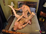 Gay Porn from dirtytony - Bottom-Takes-Big-Uncut-Cock