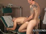 gay porn Doctor Fucks His Hunky Patient || Tight Hunk Danny Lopez Sucking the Doctor's Dick After Getting Turned on With the Doctor's Gentle Touch.