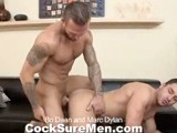 gay porn Bo And Marc || Two of Porn's Biggest Stars Collide With Marc Dylan Spreading Wide for Bo Dean. After the Guys Take Turns Blowing Each Others' Big Dicks, Bo Does What He Does Best... .fuck. Bo Is an Inked Up Machine Specializing In Drilling Holes. Mark's Bubble-butt Power-bottom Takes All 8&quot; of Bo's Bit With Pleasure. His Rock-hard Cock Sways About as He Gets Pounded From Behind. Done Fucking, the Guys Jerk Off Next to Each Other. Mark's Abs Get Covered In Cum, First From Himself and Then When Bo Adds to the Sticky Mess.